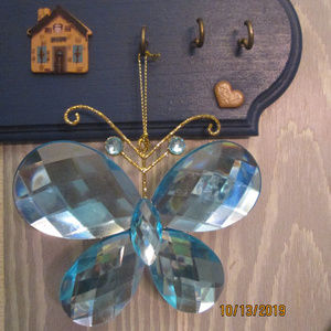 BUTTERFLY LARGE ORNAMENT DECOR ONLY